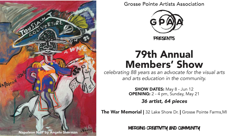 GPAA 79th Annual Members' Show