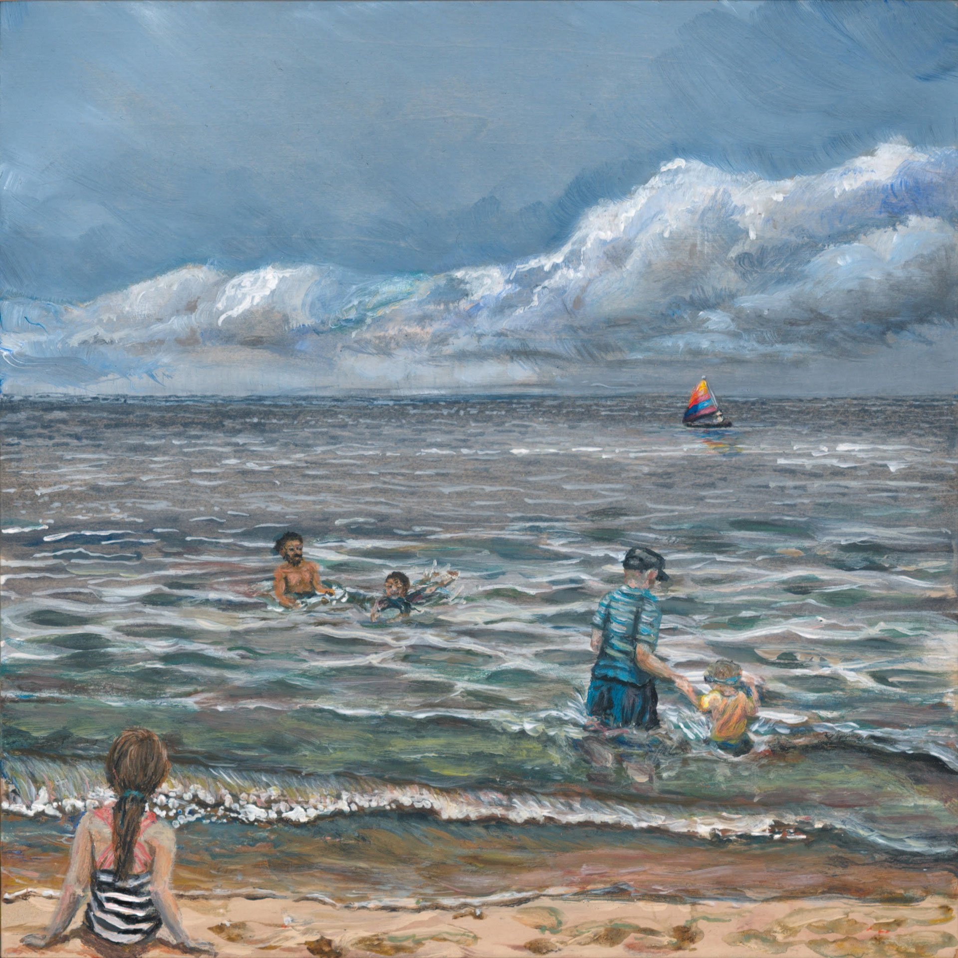 En Plein Air – Lake Michigan
