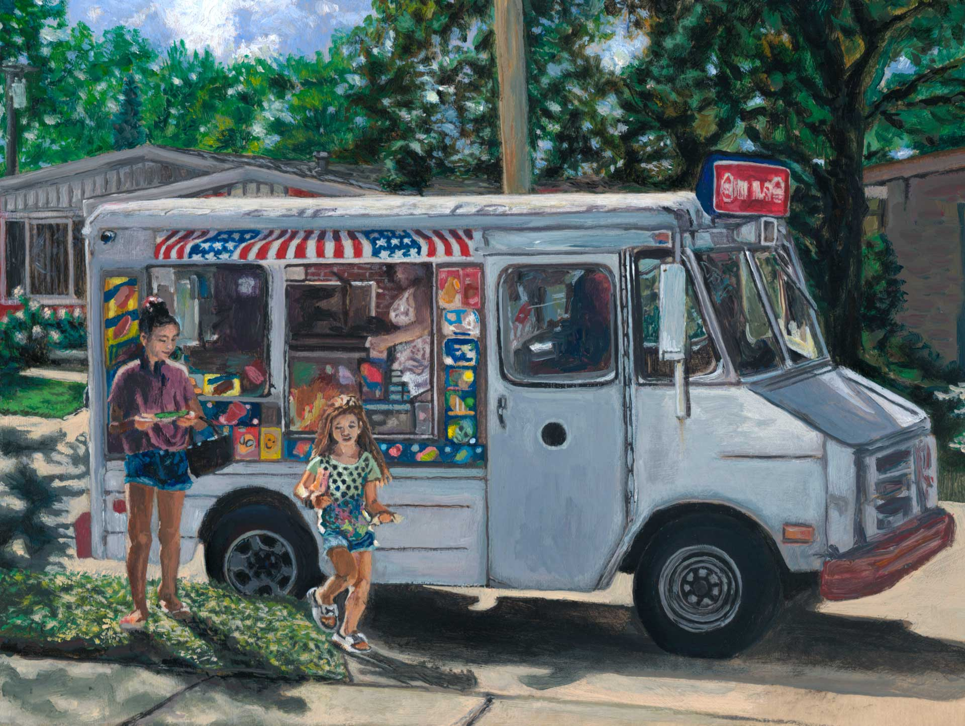 The Ice Cream Truck is Coming